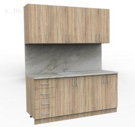 Кухня от кухненски модули 1