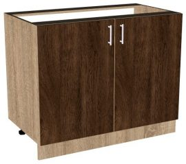 Шкаф за вграждане на мивка 100